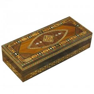 Simple rectangular mosaic box