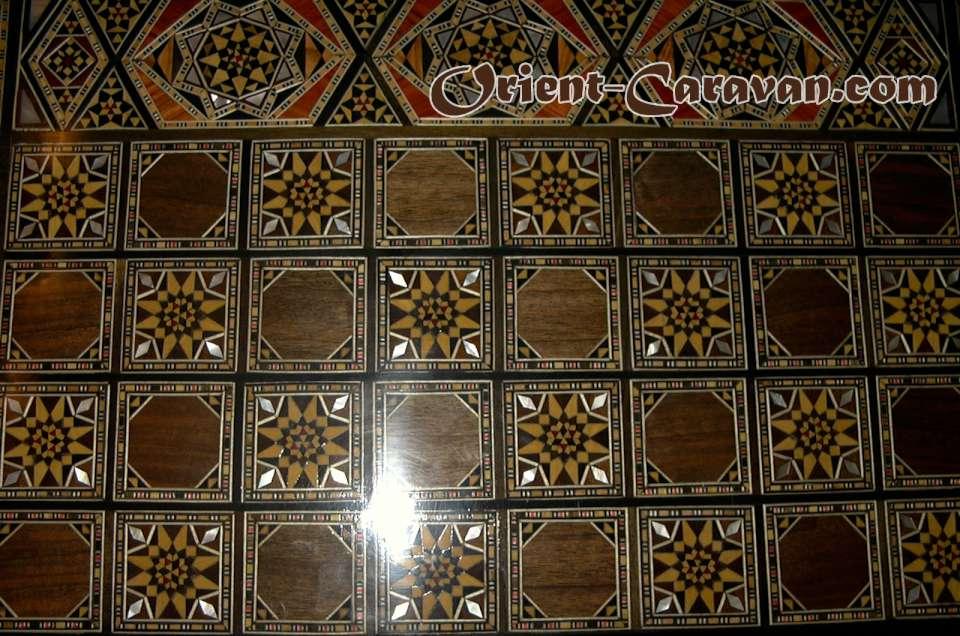 Syrian Traditional Backgammon Board