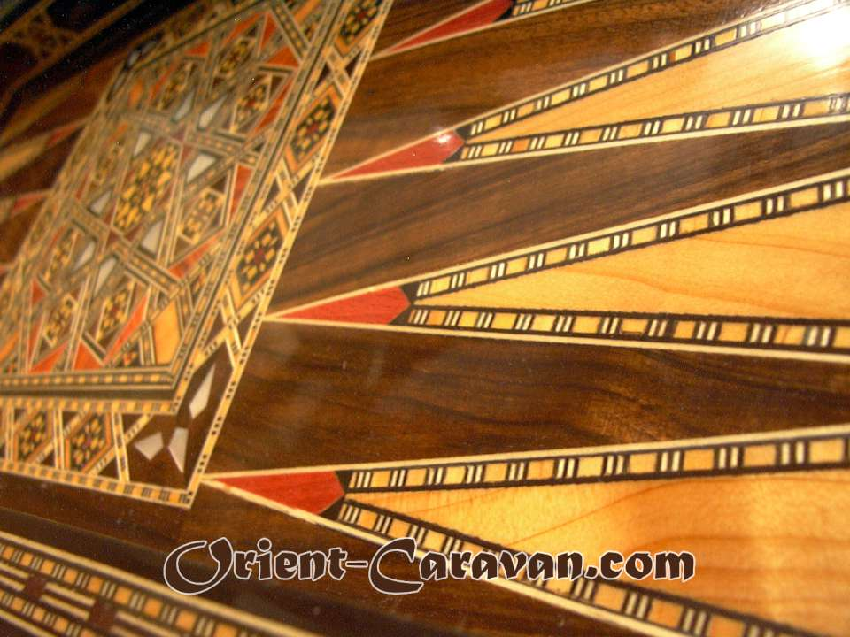 Syrian Traditional Backgammon Board